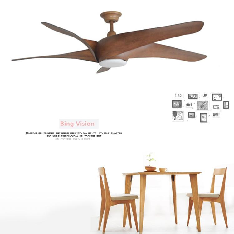 2019 60 inch nordic brown vintage ceiling fan with lights remote rh dhgate com