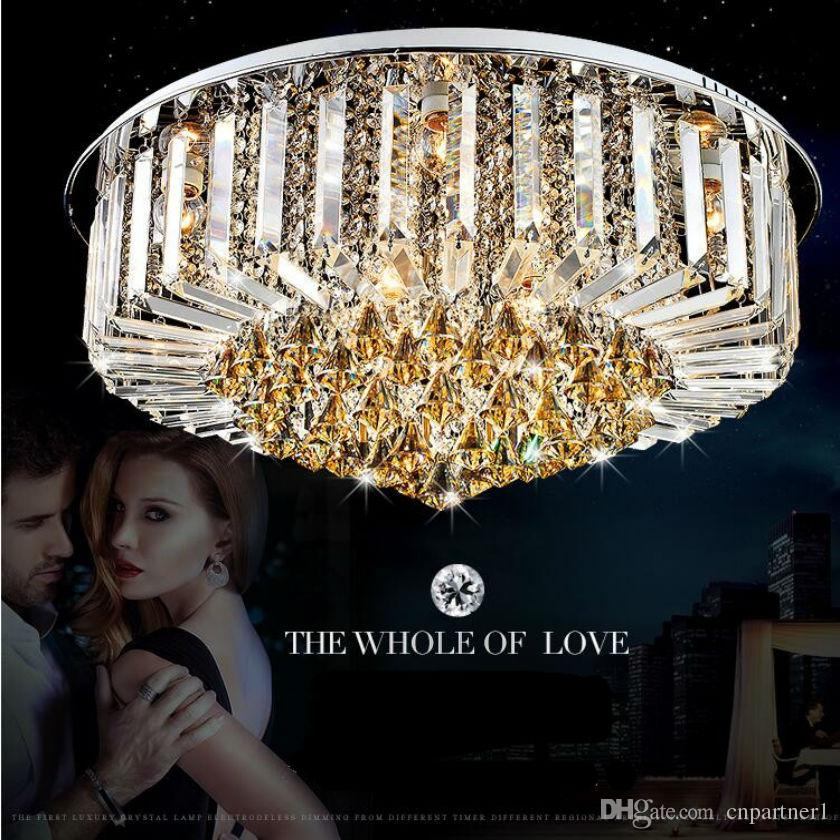 Luxury K9 Crystal Chandelier Modern Led Chandeliers