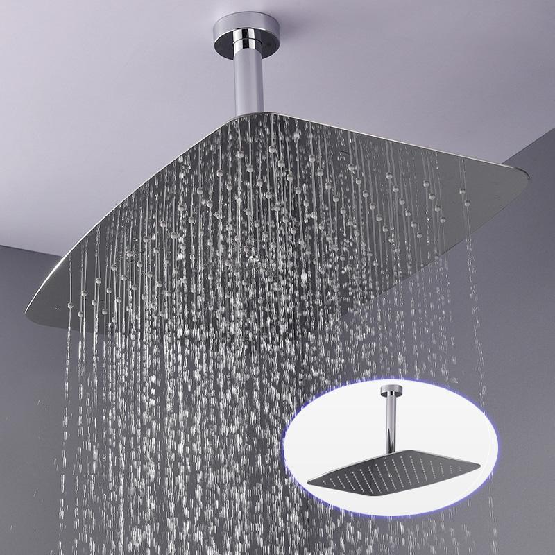 water saving shower head rectangular wall mounted 304 sus bathroom rh dhgate com