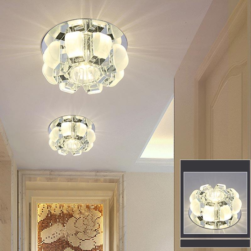Discount Modern 5w3w Led Crystal Ceiling Light