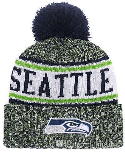 a5a429d6cb0 2019 2019 Team Seattle Beanies Sports Caps Pom Hat Men Women 32 Teams All Caps  Knitted Hat Top Quality Hat More 5000+Styles From Lindab2b