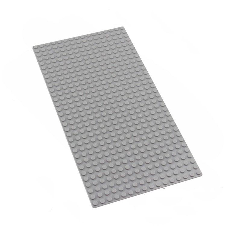 Building Blocks board Base Plate small particle building blocks assembled puzzle baseplate 16x32 dots DIY Toys Baseplate