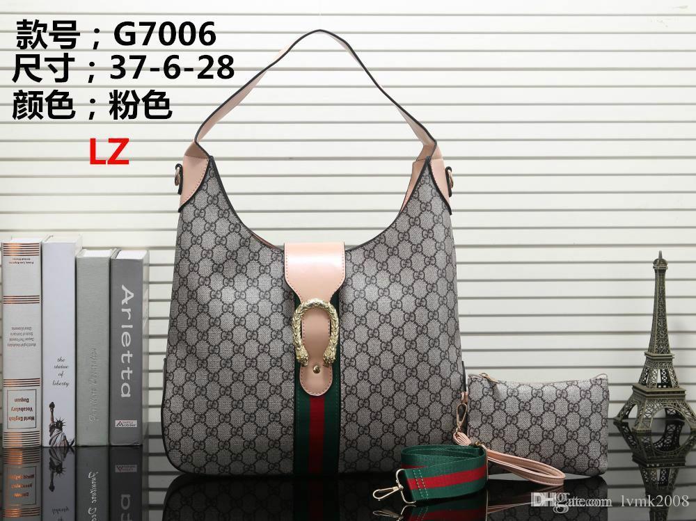2019 High-quality Ladies Leather Handbags Designer Fashion Messenger ... 621d1dab1e