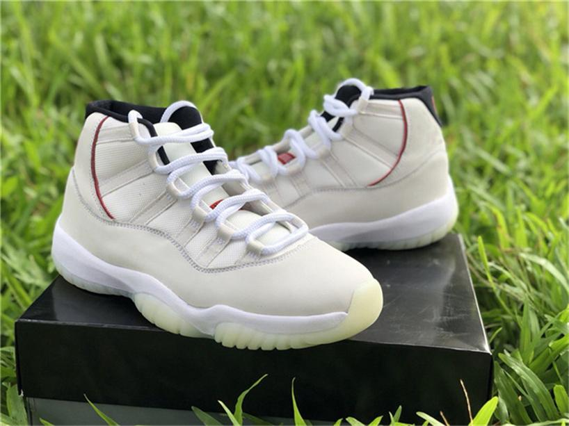af516f278ce562 2018 11 Platinum Tint 11S XII Sail-University Red Basketball Shoes ...