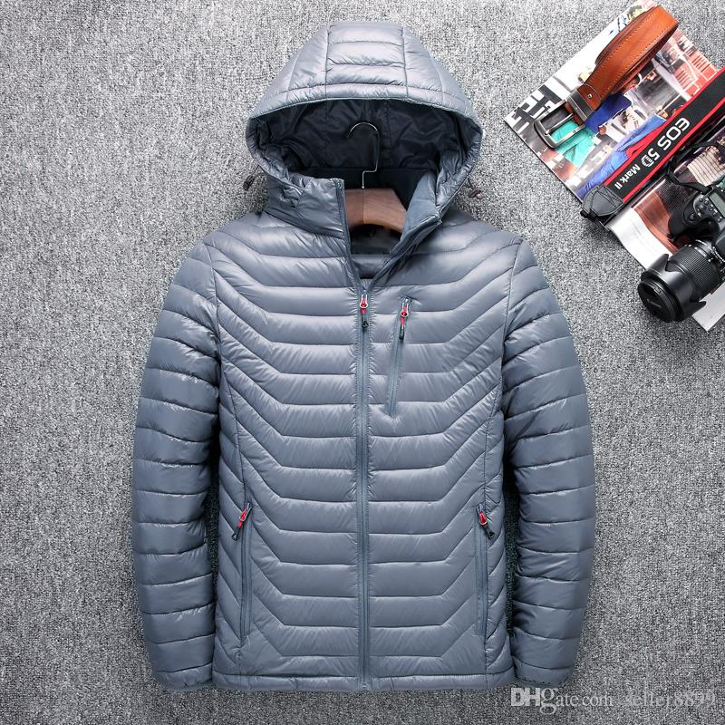 419dcbb2d30d4 2019 2018 Hot Sell New Winter Jacket Men White Duck Down Jacket Ultra Light  Mens Hooded Jackets Warm Face Jacket Coat 517# From Seller8899, $57.37 |  DHgate.