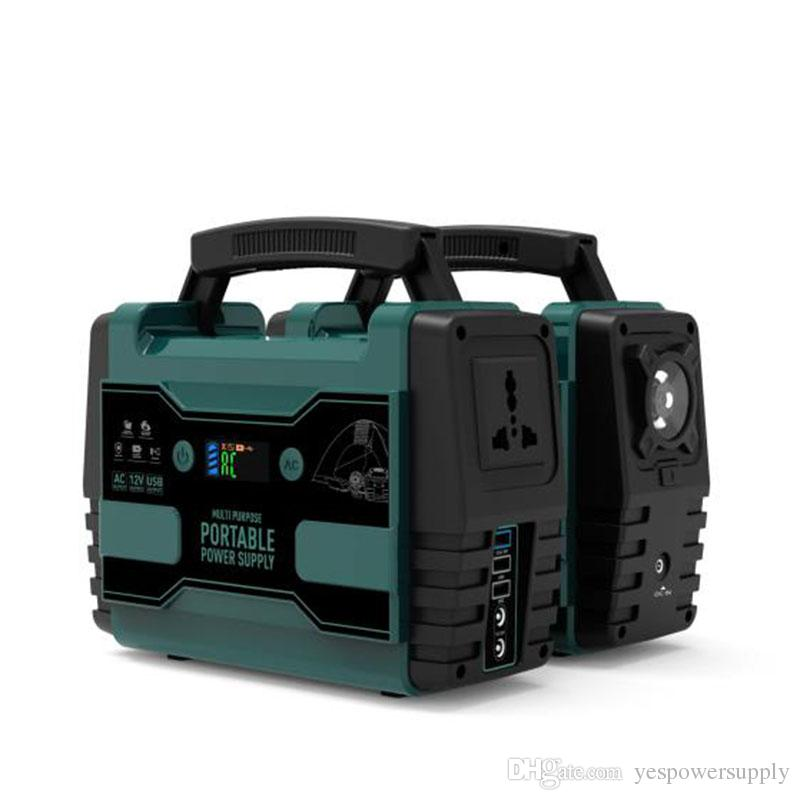 220V 110V Portable Generator Power Supply 42000mAh 155Wh Sine Eave Output  Rechargeble Battery Pack Emergency Power Supply Lithium Batteriers