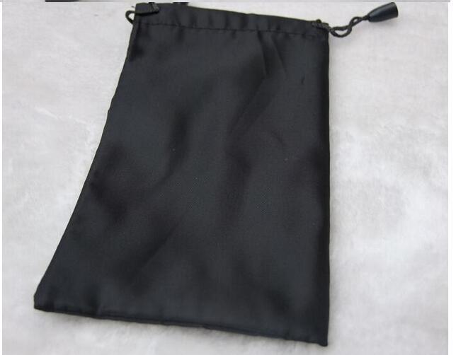 여자 패션 격자 블랙 가방 주머니 부드러운 안경 가방 안경 케이스 뜨거운 방수 선글라스 / 17.5 * 9cm