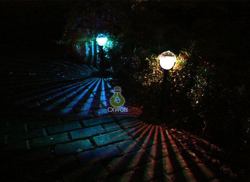 Ball shape Solar Power LED Path Light Driveway Pathway Deck Light Garden Road Lamp Outdoor Solar Landscape Lighting Fixture