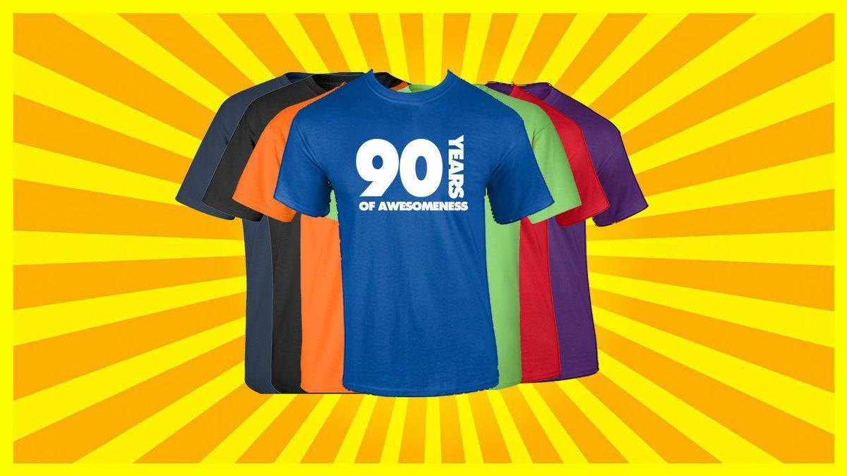 90th Birthday T Shirt Happy Funny 90 Years Old Tee Designers Business From Linnan00004 1467