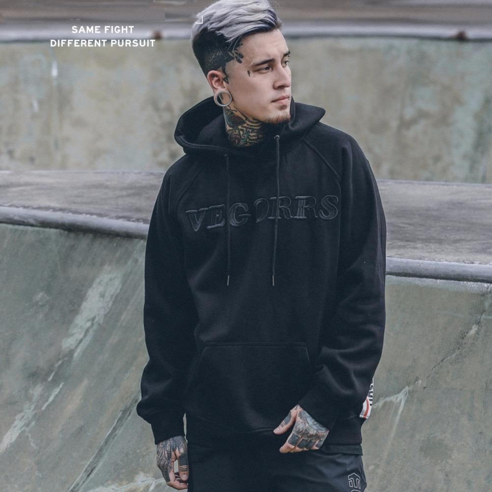 f9b11321a4c 2019 2018 Spring Sweatshirt Oversized Green Vegorrs Embroidered Hoodie With  Letters Men Women Hiphop Hoodies Streetwear Urban Clothes From Honey111