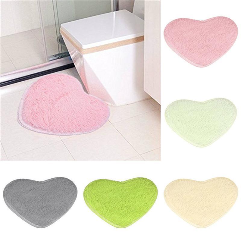 cute love short plush hearts shapes carpet area slip resistant soft rh dhgate com