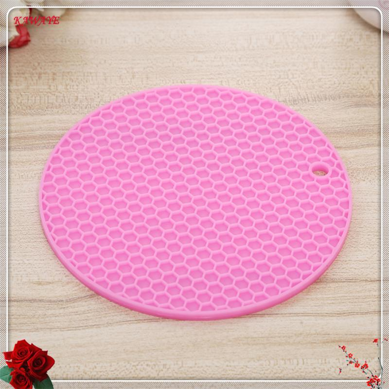 2019 creative color dinner table placemat silicone cup pads set rh dhgate com