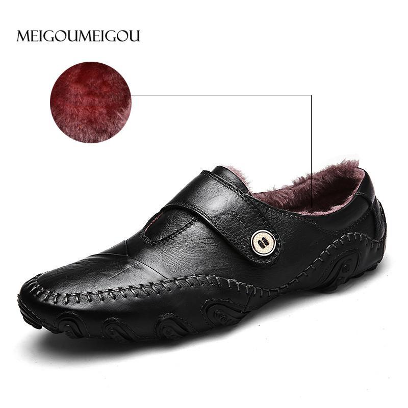 Cuero Meigoumeigou Compre De Hombres Zapatos Plantilla Caliente 6qxpZRWxn