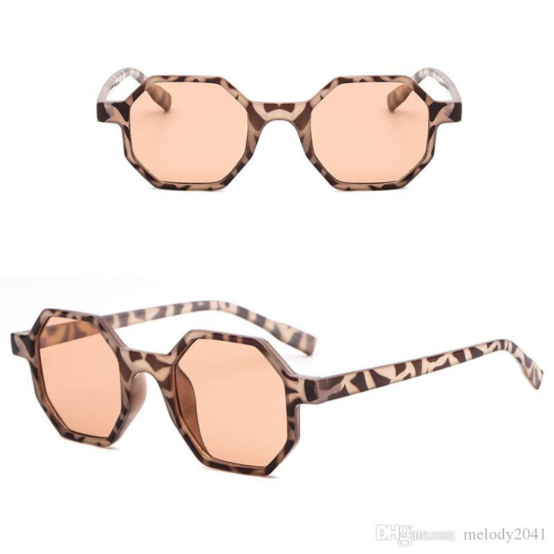 2018 New Hexagon Frame Sunglasses For Women And Men Fashion Sun Glasses UV400 Cheap Wholesale Glass