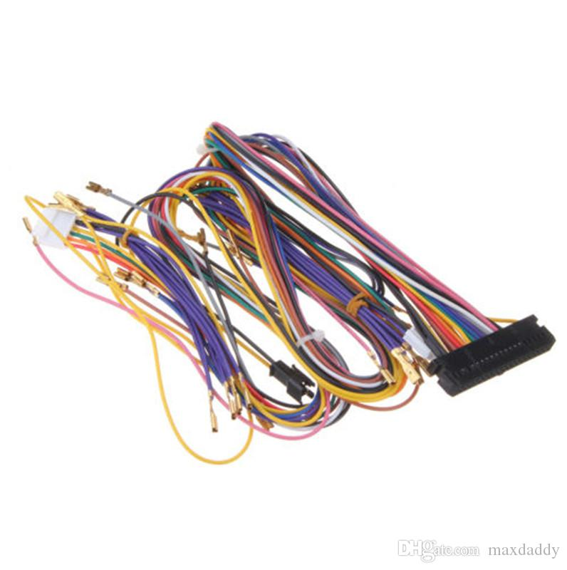 2019 wiring harness arcade cabinet 20 pin 6 buttons pandora box from rh dhgate com