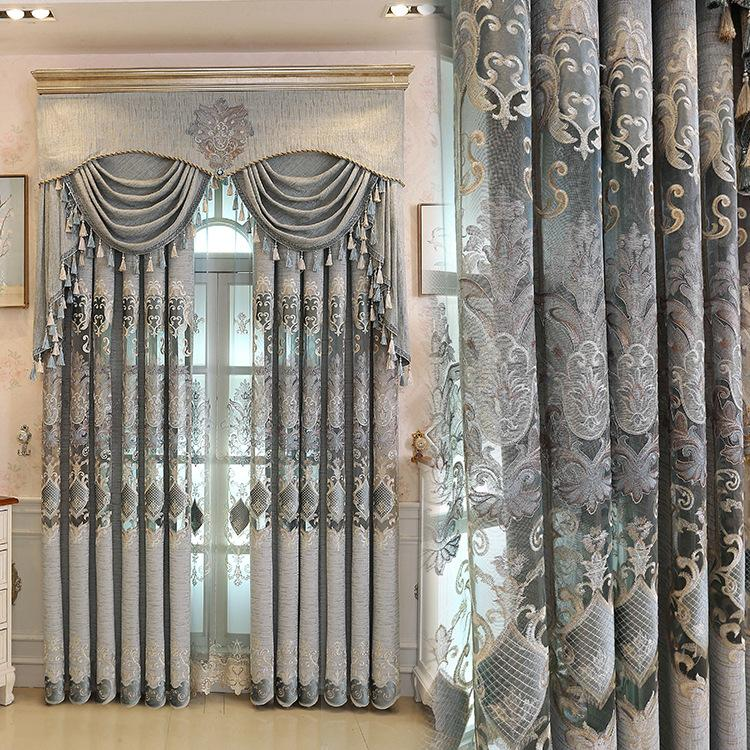 2019 living room bedroom chenille curtains for all rooms finished rh dhgate com