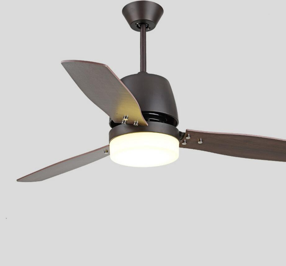 2018 Led Ceiling Fan With Lights Remote Control 110 220 Volt Light Bulbs Bedroom Lamp From Fried 455 24 Dhgate Com