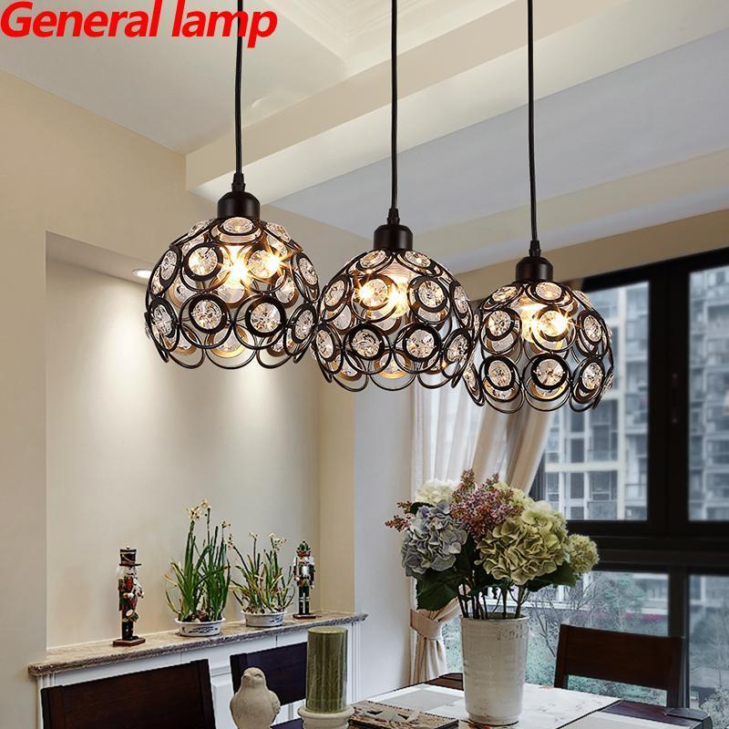 modern crystal pendant lights simple single head dining room led rh dhgate com