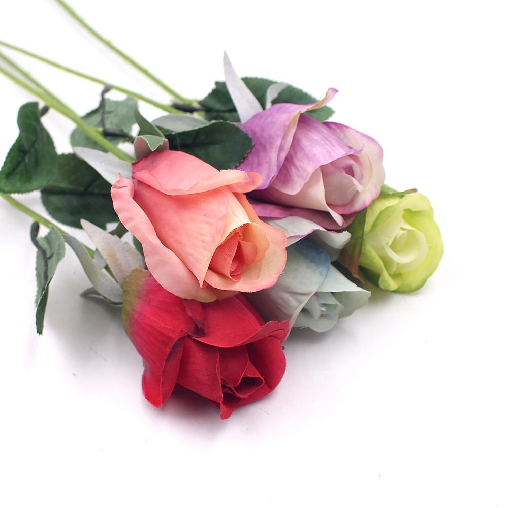 Silk Tulip Flower Head Home Wedding Decorative Accessories