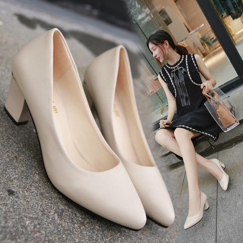 Para Amarillos Zapatos Bombas Tacones 2018 Bajos Mujer Compre Iqw6vW