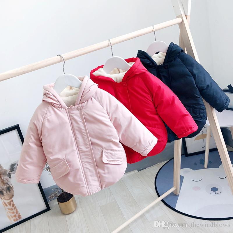 149496658 New Dynamic Boys And Girls in the Long Section of Cotton Jacket Baby ...