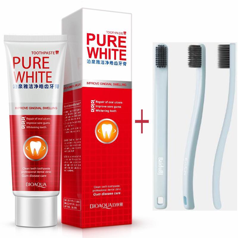 Best Whitening Toothpaste >> Bioaqua Teeth Whitening Toothpaste Cranberry Mint Gum Care