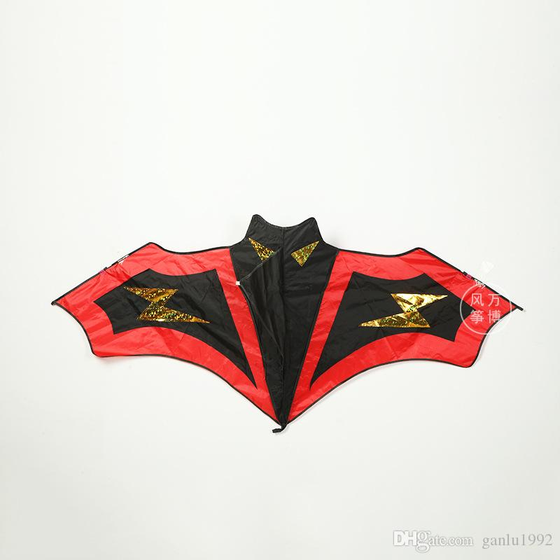 Bats Kites Blanks Or Jigsaw Puzzles Varieties Of Designs An Interesting Cloth Kite For Children Hot Sale 11 5wb W
