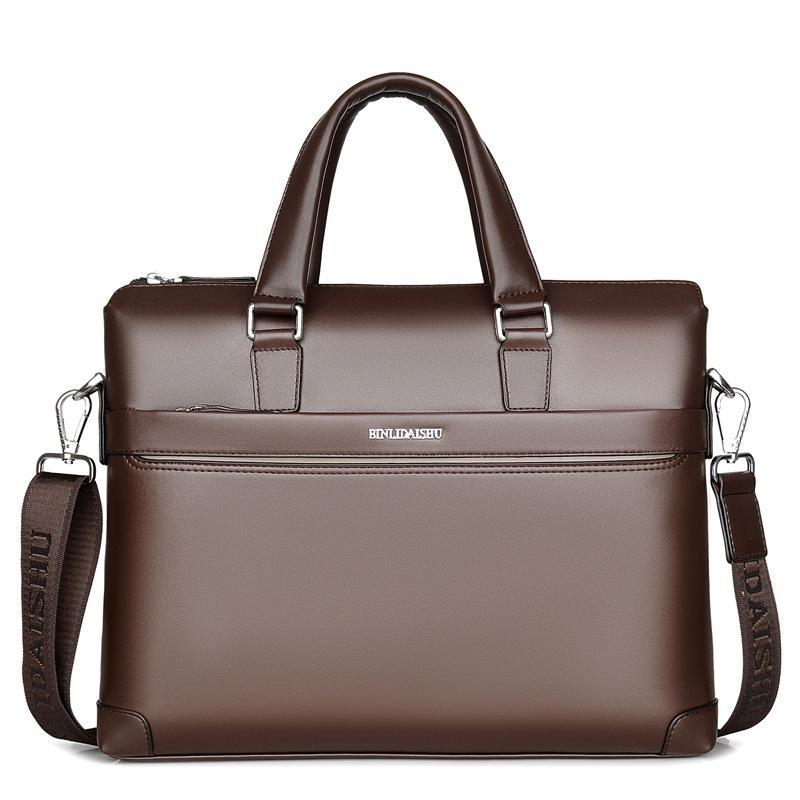 Gepäck & Taschen Symbol Der Marke Große Männer Laptop Handtaschen Bussiness Männliche Umhängetasche Lässig Feste Crossbody Umhängetasche Für Mann Tragbare Große Aktentasche