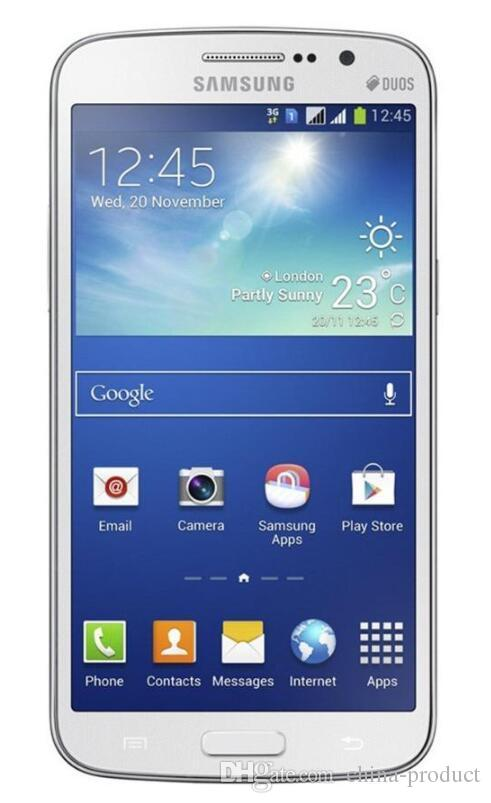 "Original Refurbished Samsung Galaxy Grand 2 G7102 Phone 5.25"" Quad Core 1.5GB RAM 8GB ROM 8MP Camera 3G WCDMA Unlocked SmartPhone"