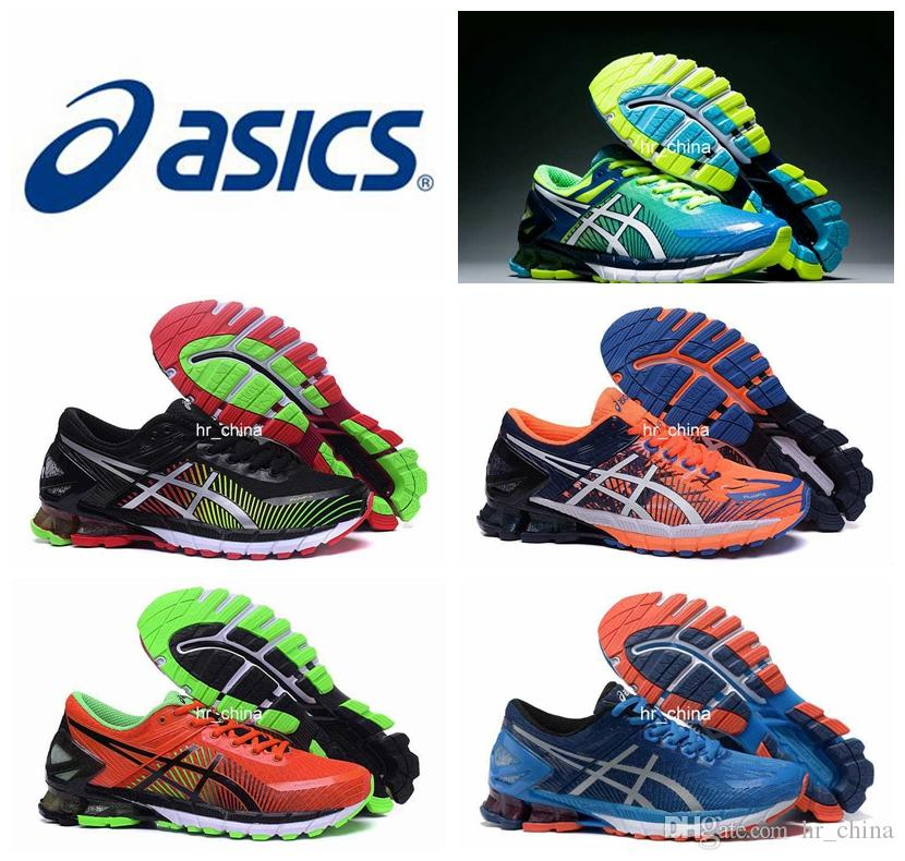 2018 New Asics Kinsel 6 Running Shoes For Men, Lightweight Top Quality  Cushion Breathable Athletic Sport Sneakers Eur Size 40 45 Trainers Shoes  Woman ...