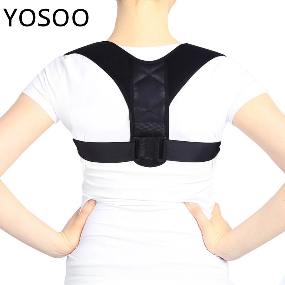 4209cfe70697 Espalda superior Cinturón Corrector de postura Soporte Corsé Espalda Apoyos  para hombro Soporte para columna vertebral Atención médica Corrección de ...