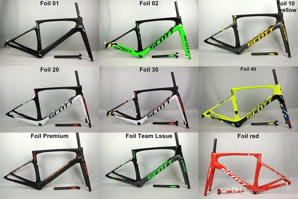More Color Can Choise Carbon Full Scott Foil Carbon Road Bike Frame