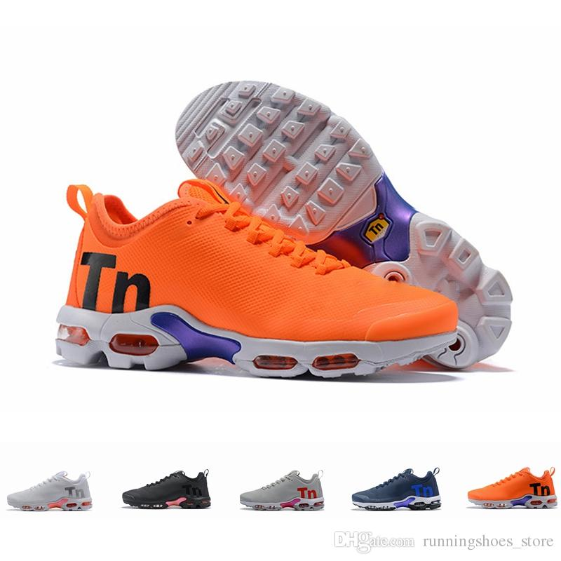 9d1b4f57e56 2018 New Arrival Mercurial Tn Plus 2 Air Running Shoes Chaussures Maxes  Orange Mens Shoes TNs Sports Outdoors Trainers Sneakers Size 36 46 Mens  Sneakers ...