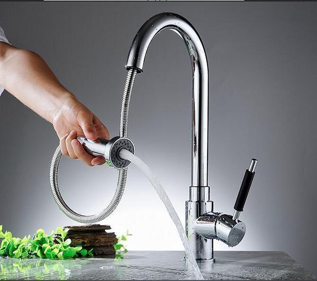 Großhandel Deluxe Herausziehen Spray Küchenarmatur Mischbatterie ...