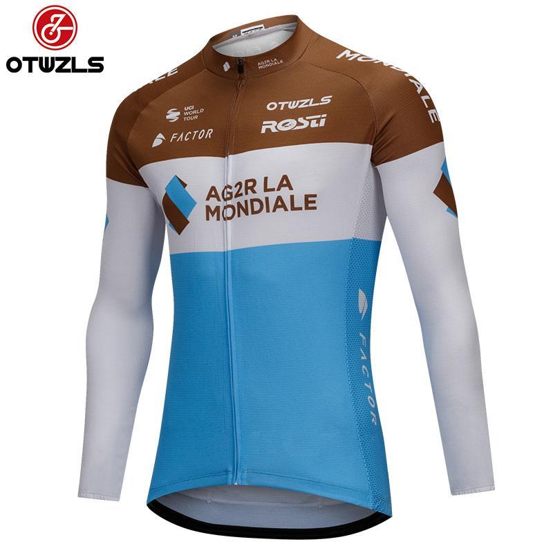 b80ca0fd21538b Acquista 2018 Uomo Ciclismo Maglia Manica Lunga Abbigliamento Bici Mtb  Mountain Bike Jersey Abbigliamento Ciclismo Pro Team Maillot Ropa Ciclismo  A $30.91 ...