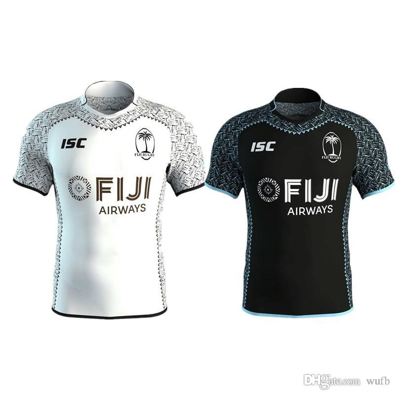 ffb149f2e Top Quality 2018 2019 FIJI Home Away Rugby Jerseys NRL National Rugby  League Shirt Nrl Jersey Fiji Shirts S-3xl Rugby Jersey Fiji Online with   18.26 Piece ...