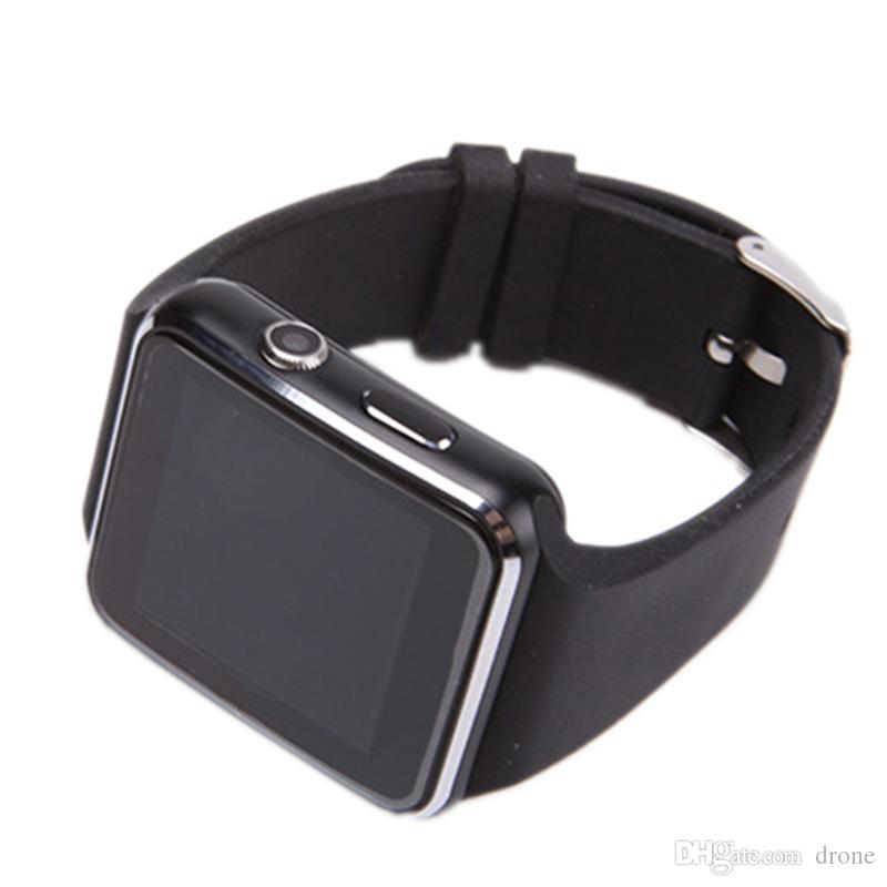 6fc4848c4a6 A6 Bluetooth Smart Watch For Android IOS Samsung Huawei Sony Sleep Tracker  Adult Sport Wrist Watch Support SIM Card Curved Screen Phone Smart Watch  Pine ...