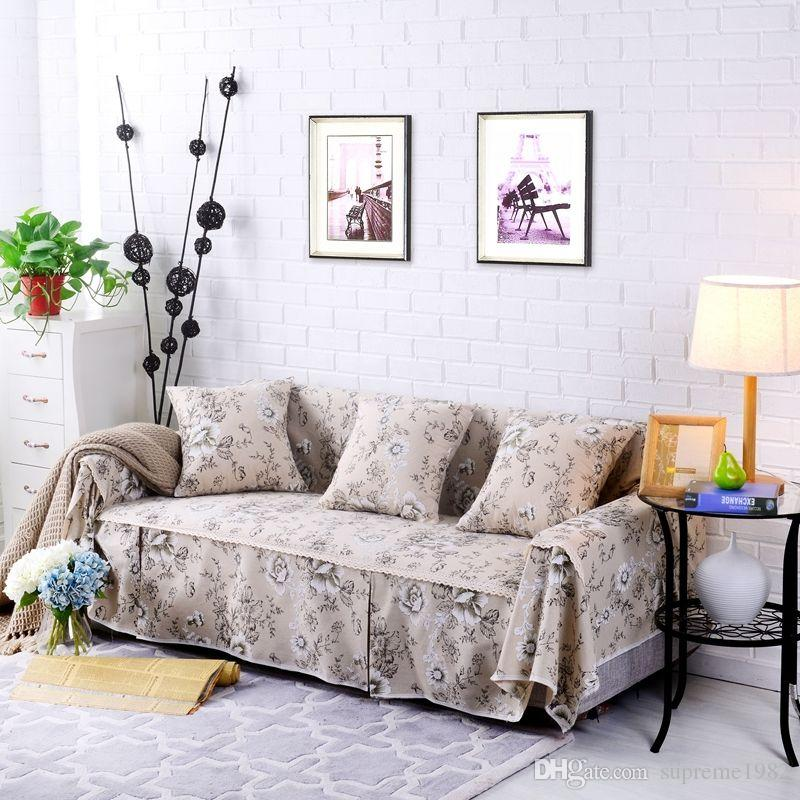 Floral Cotton Linen Slipcover Sofa Cover Oukr Protector For 1 2 3 4 Seater  Fhjdb Slipcover For Sofa Couch And Chair Covers From Supreme1982, $5.98|  Dhgate.