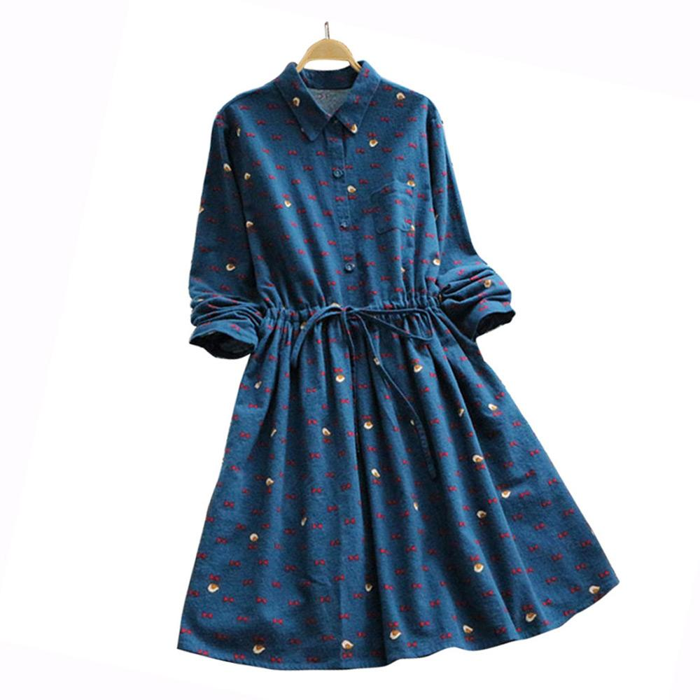 wholesale dealer 86e5b 3215a ZAFUL Donna Autunno Abiti Primavera Autunno Ladies Fashion Abiti casual con  cintura a maniche lunghe coulisse Natale A Line Dress