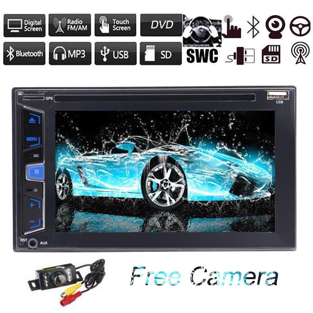 Car Stereo Radio Bluetooth Gps Player Mp3 Usb Card 6.2\'\' Car Dvd Cd ...