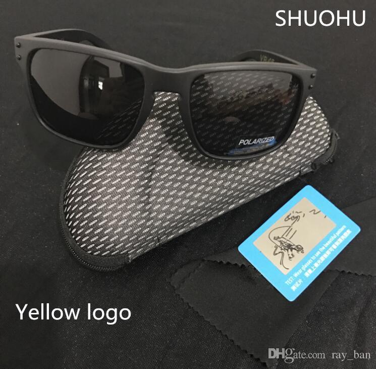 bf7800ab3 Compre 2019 Moda Polarizada Óculos De Sol Holbrook Homens Marca Esporte Ao  Ar Livre Óculos De Sol Googles Óculos De Sol Uv400 Oculos 9102 Ciclismo  Óculos De ...