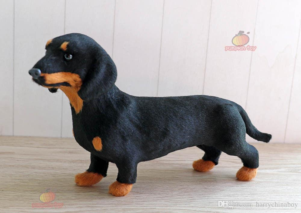 Dachshund Dog Pet Learning Resources Miniature Plush Stuffed Animal