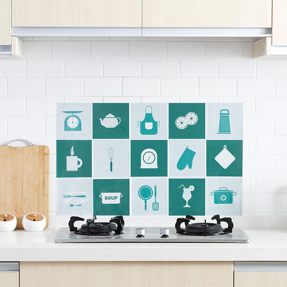 Diy Waterproof & Oil Proof Tile Stickers Tile Decals For Bathroom ...