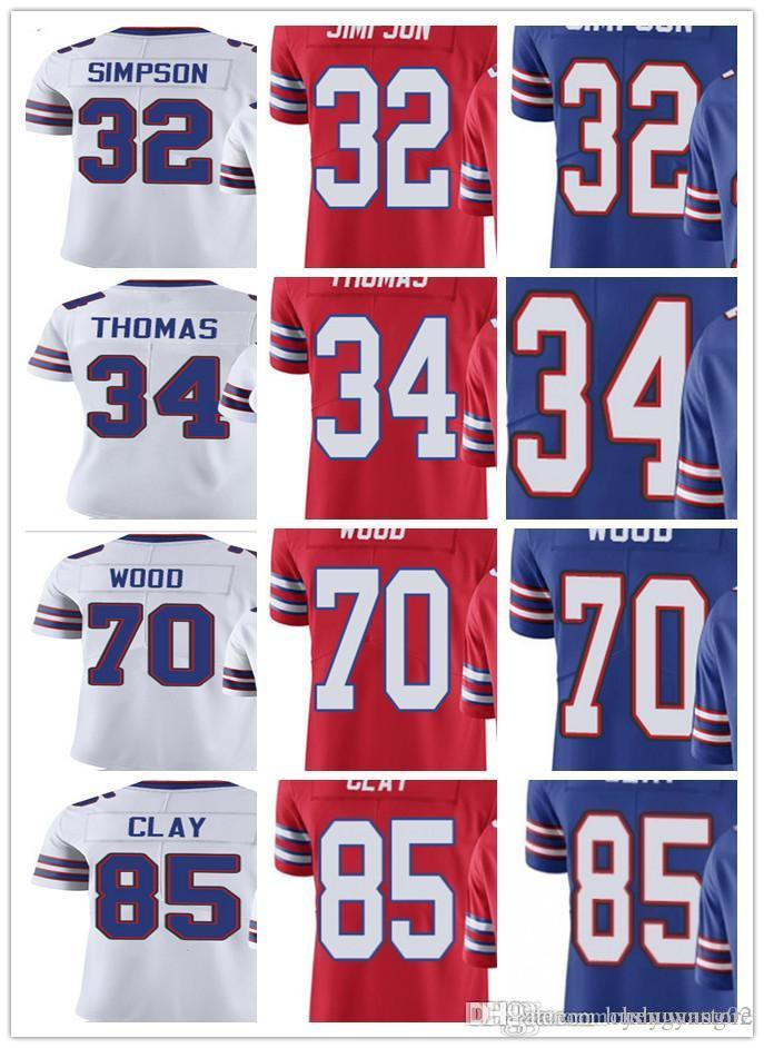 4d4983c8f italy 2018 custom buffalo men women youth bill 32 o. j. simpson 34 thurman  thomas 70 eric