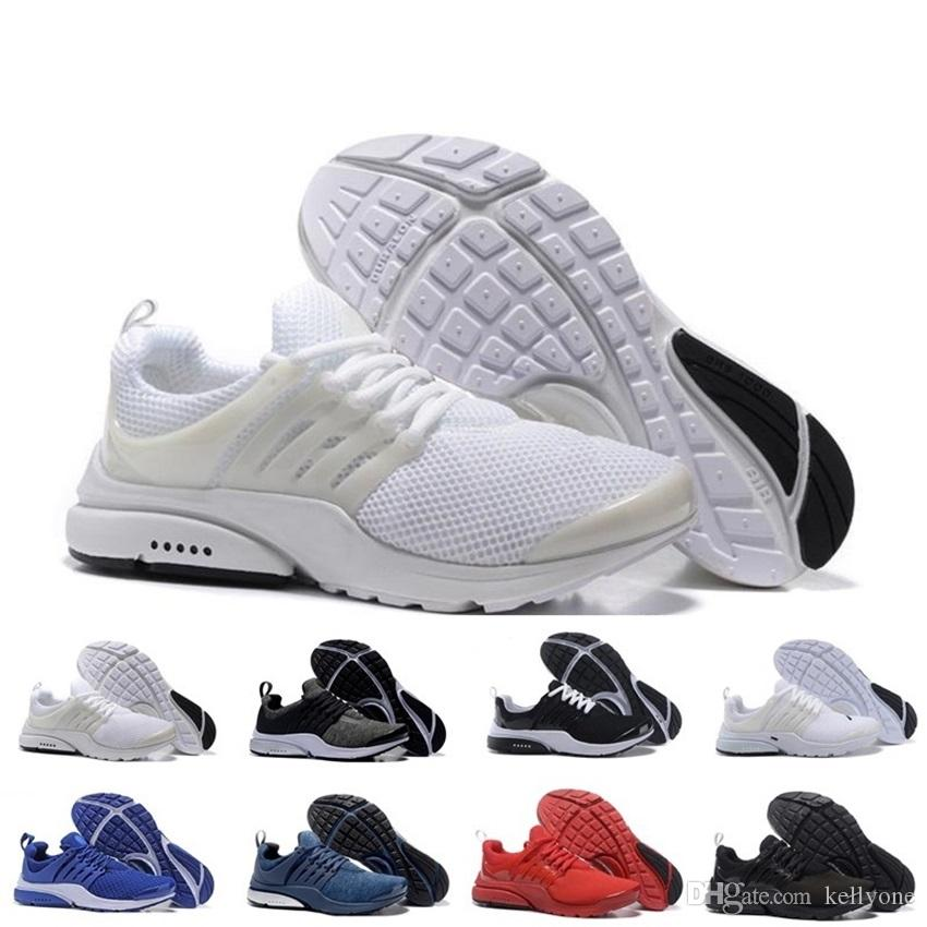 mieux aimé 3257f 9e151 Nike Air Presto shoes Nouveau 2018 presto Running Chaussures Hommes Femmes  Presto Ultra BR QS Jaune Rose Oreo Outdoor Mode Jogging Sneakers Taille EUR  ...