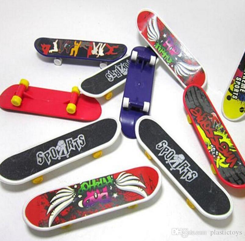 Mini Finger Skateboard Fingerboard For Tech Deck Alloy Stents Scrub Finger  Scooter Skate Boarding Classic Game Boys Toys Free Shipping