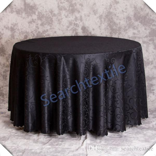 Genial Cheap Price Black Jacquad Damask Table Cloths Wedding/Banquet Round Table  Cloth \ Polyester Tablecloth Purple Tablecloths 60 Inch Round Tablecloths  From ...
