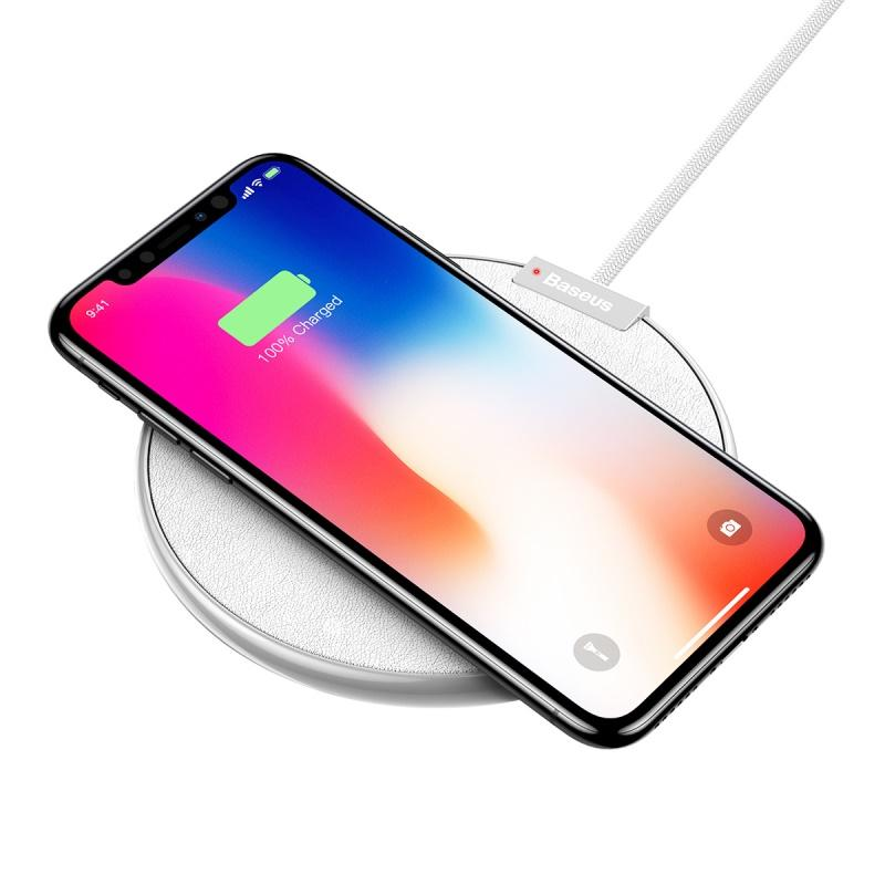 Baseus QI Wireless Charger for iPhone X 8 Plus for Samsung S8 S9 Plus iX Desktop Wireless Charger with Retail Box /up