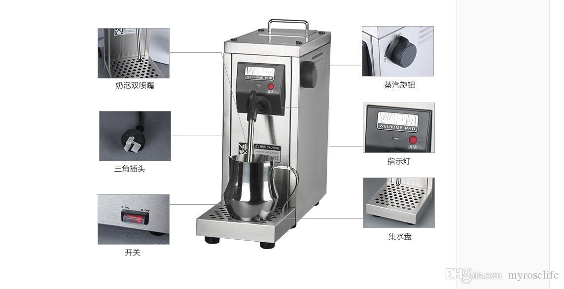 2019 220v Commercial Pump Pressure Milk Foamer Fully Automatic Milk