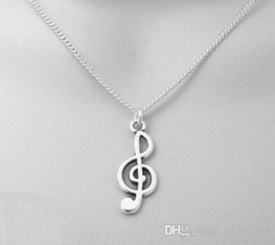 Vintage Silver Baseball Softball Gloves Musical Note SEWING MACHINE BOW ARROW Necklace Pendant Statement Necklaces Women Jewelry Gifts